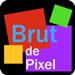 Brut de Pixel- Banque d'images libres de droits